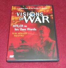 Visions of War - Hitler in His Own Words RARE OOP documentary DVD World War II