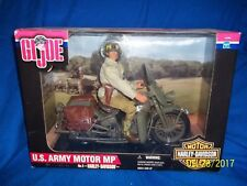 "GI Joe U.S. Army Motor MP Harley Davidson Motor Cycles 12"" No. 2 in the Series"