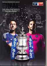 F A CUP FINAL 2010 CHELSEA v PORTSMOUTH MINT PROGRAMME