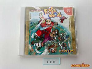 POWER STONE DC Sega Dreamcast JAPAN Ref:316137