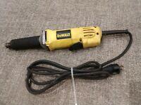 used    Electric Straight    DEWALT      DIE GRINDER   ( DW887 )