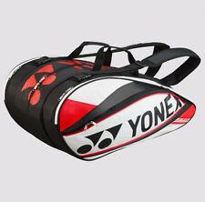 YONEX  9 Tennis/12+ Badminton Pro Thermal Racquet Bag 9529EX, White/Red