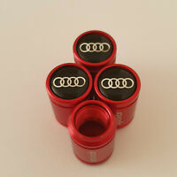 AUDI S LINE METAL SPORTS Valve Dust caps all Cars 7 COLORS UK DISPATCH RS7 RS6