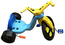 """The Original Big Wheel""""Spin-Out"""" Racer 16"""" Trike With Hand Brake - Teal"""