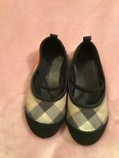 Burberry Pram Shoes Baby Footwear Nova check - Ballerinas Size 23