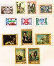 Russia Soviet stamps set Art Architecture 1972