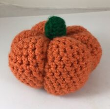 American Made Stuffed Toy Pumpkin - Fun  Food Or Halloween decoration, Ages 2+