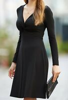 New Pepperberry Bravissimo 8 - 18 Lacey Black Knot A line Empire Dress Party
