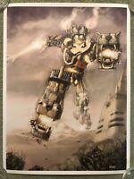 Voltron Robot Japanese Anime Manga Print Movie Poster Mondo Lee Kohse Cartoon