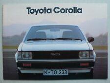 Prospekt Toyota Corolla Limousine/Kombi/Liftback, 2.1980, 28 Seiten