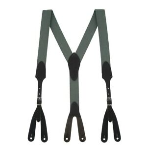 Rugged Comfort Suspenders - Button (4 Colors, 4 Sizes)
