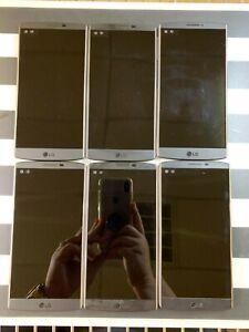 LG V10 VS990 Android Smartphone -64GB -Verizon -Black LOT of 6 GOOD Condition