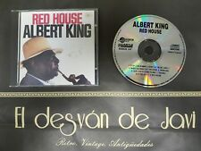 718-ALBERT KING RED HOUSE CD 1991    DISCO EX  COVER VG+