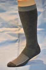 4pr Men's XTREME Merino Wool Mid-Volume Boot Socks DK GRAY MED 9-11