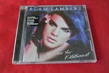 For Your Entertainment Adam Lambert (American Idol) Promo Sticker Canada CD NEW