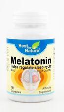 Best in Nature Melatonin 180 capsules