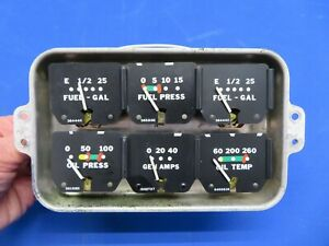 Piper Cherokee PA-28-140 Cluster Gauge 63922-02, 63922-002 (0920-19)