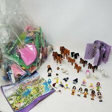 Lego Friends Stable Minifigures Horses Pink Bricks Parts Pieces Sets Lot 3189
