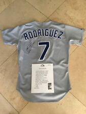 -ivan-rodriguez-game-used-signed-1991-rangers-rookie-jersey
