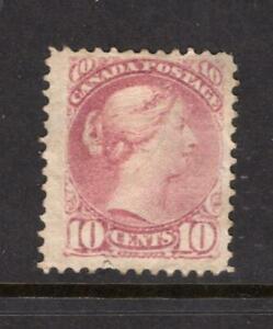 Canada 1877 Queen Victoria 10¢ - Used - SC# 40  Cats $90.00  - No Reserve!