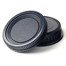 Camera Body and Rear Lens Cap for Pentax K-mount K-X, K-7, K-5, K-5 II, K-R etc.