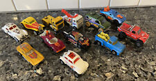 Vintage 1970s 1980s Hot Wheels Lot of 12 Trucks Race Cars Towing Bug Semi Rare