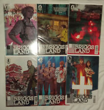 DARK HORSE COMICS BRIGGS LAND AND BRIGGS LAND LONE WOLVES #1 2 3 4 5 6 (of 6)