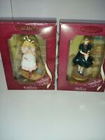 American Girl Collection KIRSTEN AND MOLLY Hallmark Keepsake Ornament