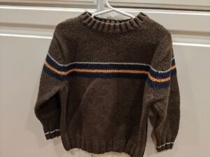 The Children's Place Boys Size XS 4 Sweater Brown