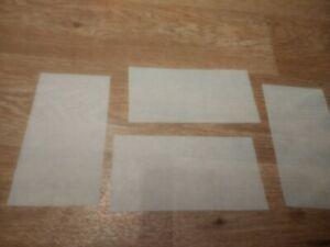 4 x Toko Workshop TexWax Sheets All-in-One Universal Wax