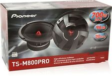 "Pioneer TSM800PRO 8"" PRO Series High Efficiency Mid-Bass Car Speaker Drivers New"