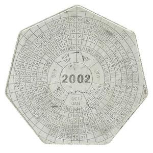 Zambia - Silver 4000 Kwacha Coin - 'Calendar 2002' - 2001 - AU
