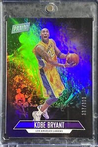 2018 Panini Father's Day Kobe Bryant Holo Foil /399 SP Card Limited Print Rare