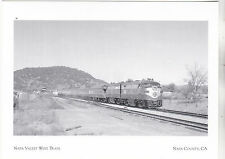"*Postcard-""Napa Valley Wine Train"" (Pullman/Observation) Napa County CA.(A20-9)"