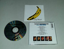 CD The Velvet Underground & Nico produced by Andy Warhol 11. tracks 1996 02/16