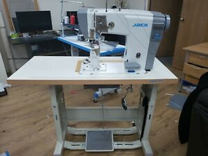 SEWING MACHINE INDUSTRIAL JACK JK-6691 FULLY AUTO 1N POST BED SEWING MACHINE