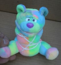 """Meanies """" Tied The Bear """" Ty Dye 6 Tall Made By Meanies Series 3"""