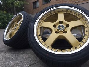 """Holden Commodore Wheels And Tyres Simmons 18"""" Vz Vy Pre Ve .."""