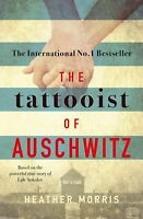 The Tattooist of Auschwitz By Heather Morris (Paperback, 2018) Free shipping !!!