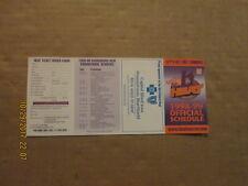 NPSL Harrisburg Heat Vintage Defunct Circa 1998-99 Soccer Pocket Schedule