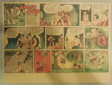 Alley Oop Sunday by VT Hamlin from 3/29/1953 Half Page Size
