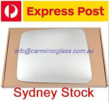 LEFT PASSENGER SIDE MIRROR GLASS FOR NISSAN PATROL Y60 1988 - 1997 (ELECTRIC M)