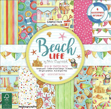 DOVECRAFT BEACH LIFE 8 X 8 SAMPLE PACK - HOLIDAYS - 12 SHEETS - POSTAGE DEAL