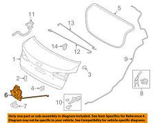 KIA OEM 14-15 Forte Trunk-Lock or Actuator Latch Release 81230A7030
