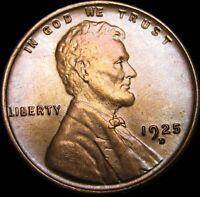 1925-D Lincoln Cent Wheat Penny ----  Gem BU++ ---- #S456