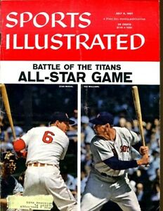 Stan Musial Ted Williams 1957 Sports Illustrated 7/8 Battle Of Titans 52488