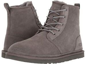 {1016472-CHRC} UGG Men's Harkley Boot - Charcoal *NEW*