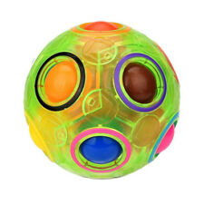 Luminous Magic Cube Speed Rainbow Ball Football Spherical Puzzle Kid Gift lp24