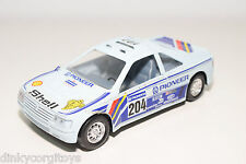 MIRA 1046 PEUGEOT 405 TURBO 16 LIGHT BLUE RALLY EXCELLENT CONDITION
