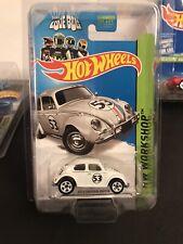 2013 Hot Wheels HW Workshop HERBIE -The Love Bug VW Beetle 191.250 BFD65 1:64